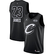 Jordan Men's 2018 NBA All-Star Game LeBron James Black Dri-FIT Swingman Jersey