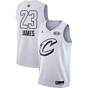 Jordan Men's 2018 NBA All-Star Game LeBron James White Dri-FIT Swingman Jersey