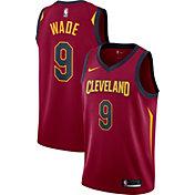 Nike Men's Cleveland Cavaliers Dwyane Wade #3 Burgundy Dri-FIT Swingman Jersey