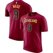 Nike Men's Cleveland Cavaliers Dwyane Wade #3 Dri-FIT Burgundy T-Shirt