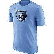 Nike Men's Memphis Grizzlies Dri-FIT Light Blue Logo T-Shirt