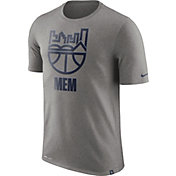 Nike Men's Memphis Grizzlies Dri-FIT Grey Cityscape T-Shirt