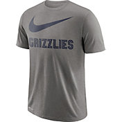 Nike Men's Memphis Grizzlies Dri-FIT Legend Grey T-Shirt