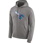 Nike Men's Charlotte Hornets Club Grey Pullover Hoodie