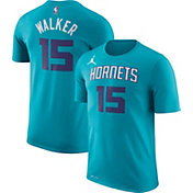 Jordan Men's Charlotte Hornets Kemba Walker #15 Dri-FIT Teal T-Shirt