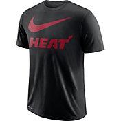 Nike Men's Miami Heat Dri-FIT Legend Black T-Shirt