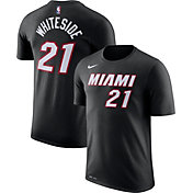 Nike Men's Miami Heat Hassan Whiteside #21 Dri-FIT T-Shirt