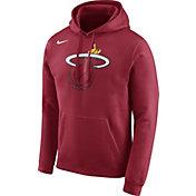Nike Men's Miami Heat Club Red Pullover Hoodie