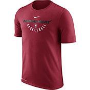 Nike Men's Miami Heat Dri-FIT Red Practice T-Shirt
