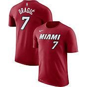 Nike Men's Miami Heat Goran Dragic #7 Dri-FIT Red T-Shirt