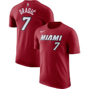 Nike Men's Miami Heat Goran Dragic #7 Dri-FIT Red T-Shirt