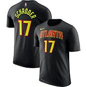 Nike Men's Atlanta Hawks Dennis Schröder #17 Dri-FIT Black T-Shirt