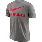 Nike Men's Atlanta Hawks Dri-FIT Legend Grey T-Shirt