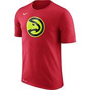 Nike Men's Atlanta Hawks Dri-FIT Red Logo T-Shirt