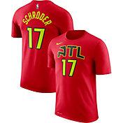 Nike Men's Atlanta Hawks Dennis Schröder #17 Dri-FIT Red T-Shirt