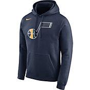 Nike Men's Utah Jazz Club Navy Pullover Hoodie