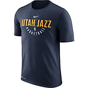 Nike Men's Utah Jazz Dri-FIT Navy Practice T-Shirt