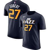 Nike Men's Utah Jazz Rudy Gobert #27 Dri-FIT Navy T-Shirt