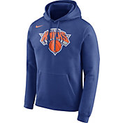Nike Men's New York Knicks Club Royal Pullover Hoodie