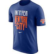 "Nike Men's New York Knicks Dri-FIT ""In It For New York City"" Royal T-Shirt"