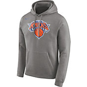 Nike Men's New York Knicks Club Grey Pullover Hoodie