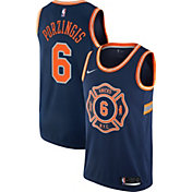 Nike Men's New York Knicks Kristaps Porzingis Dri-FIT City Edition Swingman Jersey