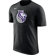 Nike Men's Sacramento Kings Dri-FIT Black Logo T-Shirt