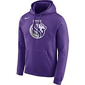 Nike Men's Sacramento Kings Club Purple Pullover Hoodie
