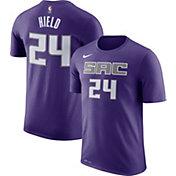 Nike Men's Sacramento Kings Buddy Hield #24 Dri-FIT Purple T-Shirt