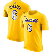 Nike Men's Los Angeles Lakers Jordan Clarkson #6 Dri-FIT Gold T-Shirt