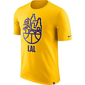 Nike Men's Los Angeles Lakers Dri-FIT Gold Cityscape T-Shirt