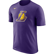 Nike Men's Los Angeles Lakers Dri-FIT Purple Logo T-Shirt