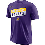 Nike Men's Los Angeles Lakers Dri-FIT Purple T-Shirt