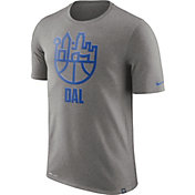 Nike Men's Dallas Mavericks Dri-FIT Grey Cityscape T-Shirt