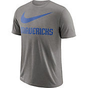 Nike Men's Dallas Mavericks Dri-FIT Legend Grey T-Shirt