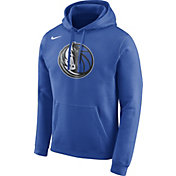 Nike Men's Dallas Mavericks Club Royal Pullover Hoodie