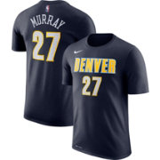 Nike Men's Denver Nuggets Jamal Murray #27 Dri-FIT Navy T-Shirt