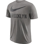 Nike Men's Brooklyn Nets Dri-FIT Legend Grey T-Shirt