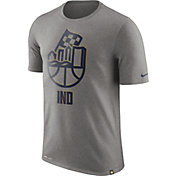Nike Men's Indiana Pacers Dri-FIT Grey Cityscape T-Shirt