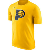 Nike Men's Indiana Pacers Dri-FIT Gold Logo T-Shirt