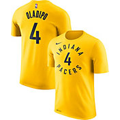 Nike Men's Indiana Pacers Victor Oladipo #4 Dri-FIT Gold T-Shirt