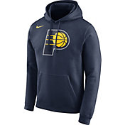 Nike Men's Indiana Pacers Club Navy Pullover Hoodie