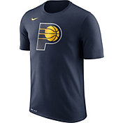 Nike Men's Indiana Pacers Dri-FIT Navy Logo T-Shirt