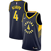 Nike Men's Indiana Pacers Victor Oladipo #4 Navy Dri-FIT Swingman Jersey