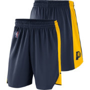 Nike Men's Indiana Pacers Dri-FIT Navy Practice Shorts