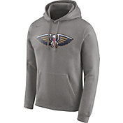 Nike Men's New Orleans Pelicans Club Grey Pullover Hoodie