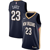 Nike Men's New Orleans Pelicans Anthony Davis #23 Navy Dri-FIT Swingman Jersey