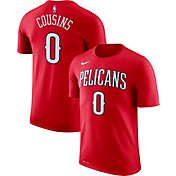 Nike Men's New Orleans Pelicans DeMarcus Cousins #0 Dri-FIT Red T-Shirt