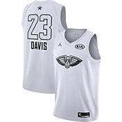 Jordan Men's 2018 NBA All-Star Game Anthony Davis White Dri-FIT Swingman Jersey