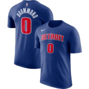 Nike Men's Detroit Pistons Andre Drummond #0 Dri-FIT Royal T-Shirt